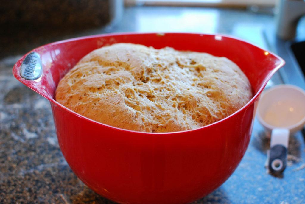 Kate's Cinnamon Bread Rising