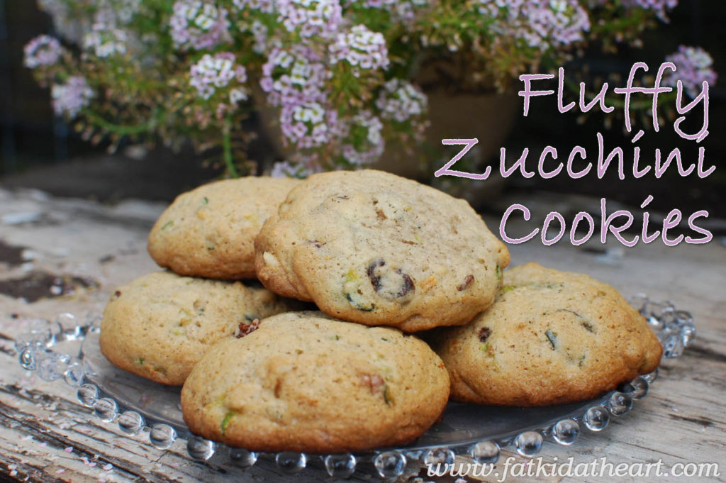 Zucchini Cookies from fatkidatheart.com