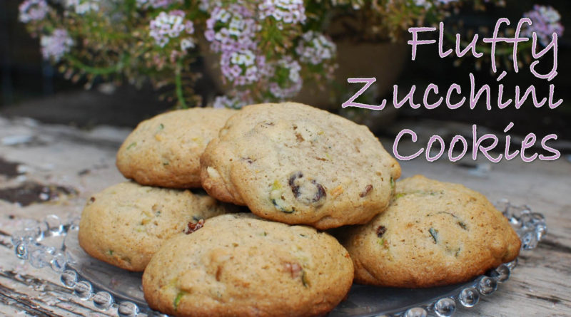 Fluffy Zucchini Cookies from www.fatkidatheart.com