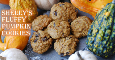Shelly's Fluffy Pumpkin Cookies by Fatkidatheart.com