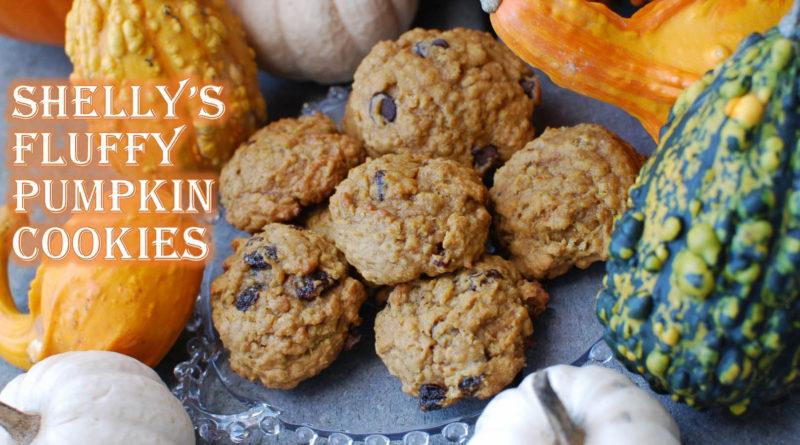Shelly's Fluffy Pumpkin Cookies by Fatkidatheart.com